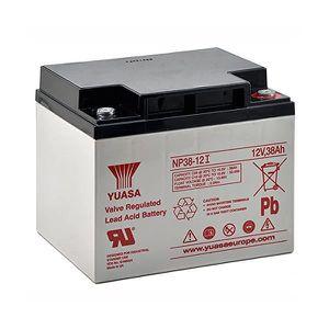 BATTERIE DOMOTIQUE Batterie plomb 12V 38 Ah Yuasa gamme NP