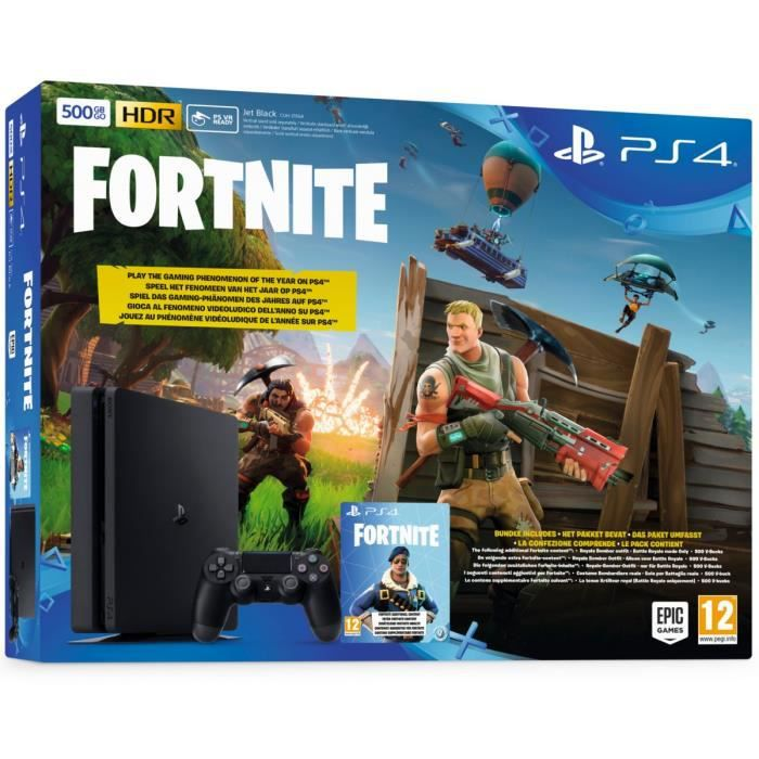 ps4 500 go noire fortnite achat vente console ps4 ps4 500 go noire fortnite cdiscount. Black Bedroom Furniture Sets. Home Design Ideas