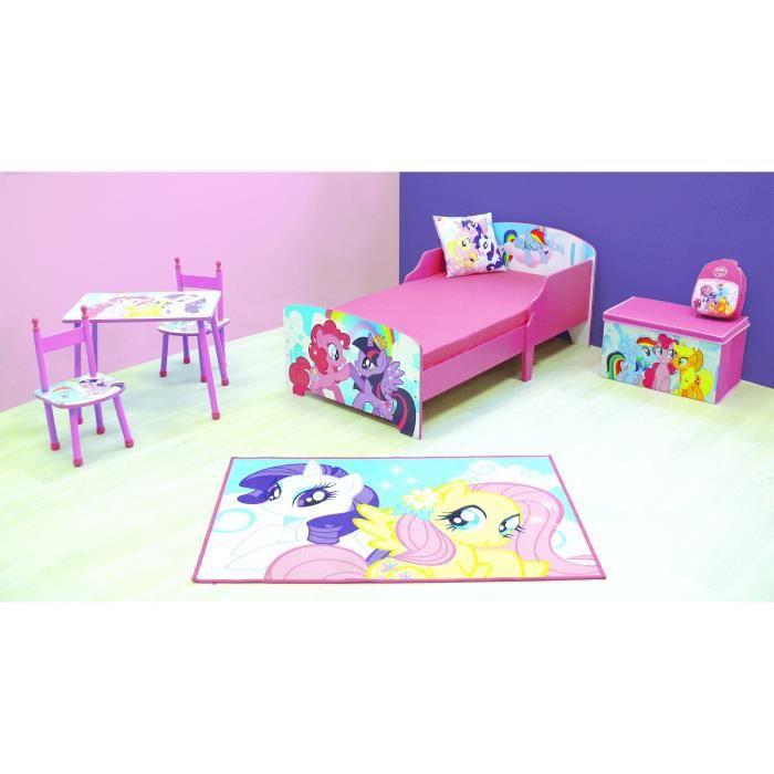 CIJEP MON PETIT PONEY Pack chambre complète enfant Fille - 8 éléments