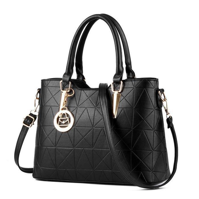 sac cuir sacs à main mode Grande capacité Poids Léger sac chaine luxe Marques Style britannique