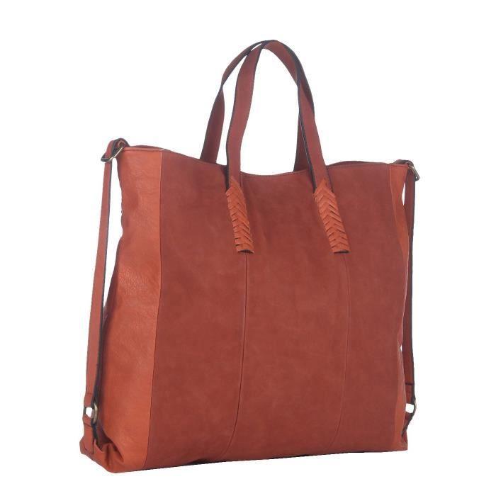 Handbag- (couleur orange) pour hommes CYF1F