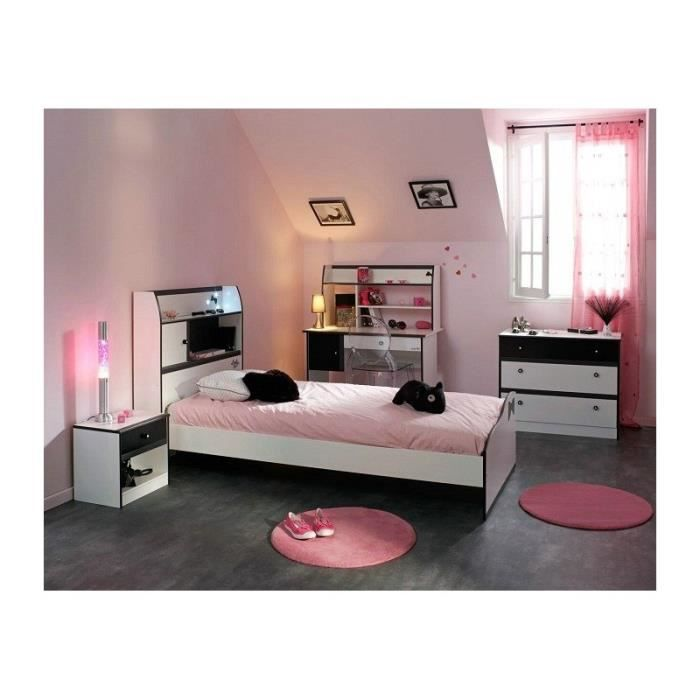 Emejing Chambre Fille Blanche Images - Home Decorating Ideas ...