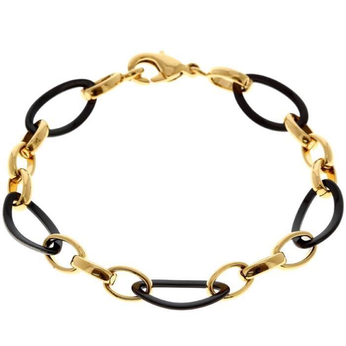 Bijou SORTILEGES Bracelet Clémentine plaqué Or