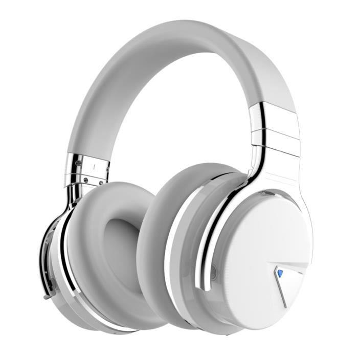Cowin E7 Blanc Casque Audio Bluetooth Haute Qualité Sonore