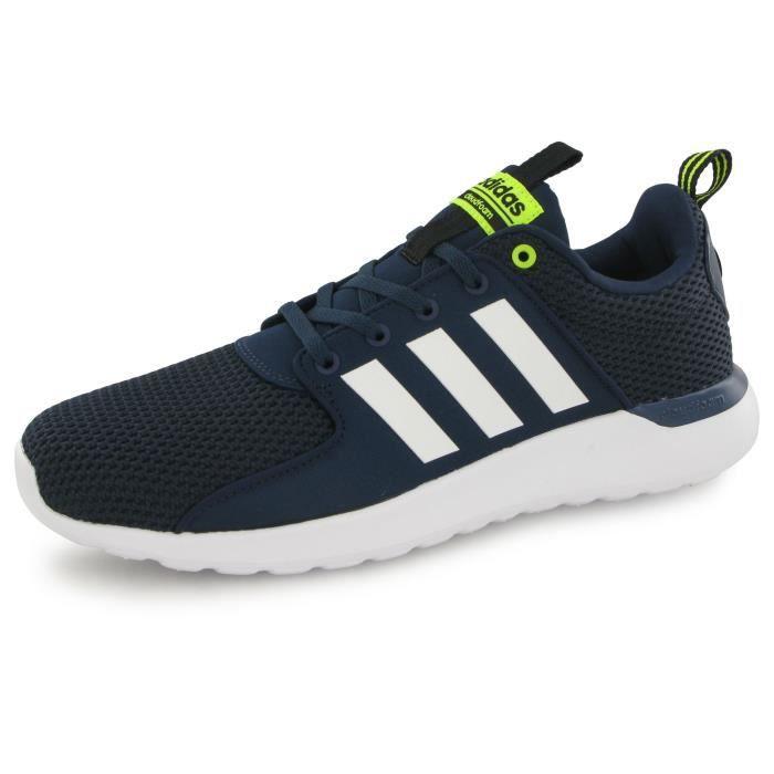 Adidas Neo Cloudfoam Lite Racer bleu, baskets mode homme