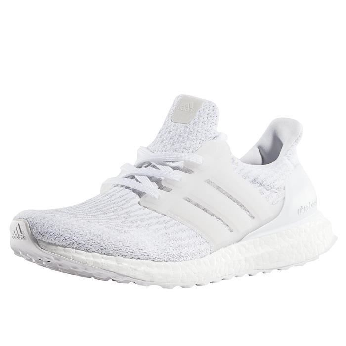revendeur bfe62 64195 Adidas Homme Chaussures / Baskets Ultra Boost Blanc - Achat ...