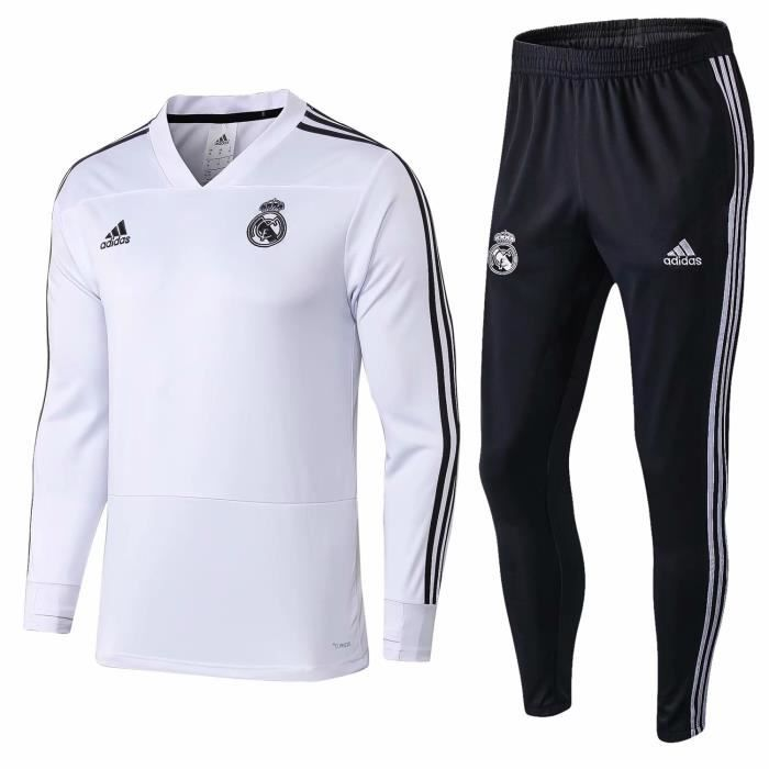 Maillot De Football Manteau 1819 Homme Real Madrid ChQtrds