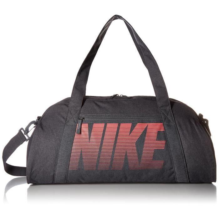 4b6e7401d2 Nike BA5490-021 Sac de Sport de Training Femme, Gris Foncé-Gris Foncé-Sea  Coral, Taille Unique