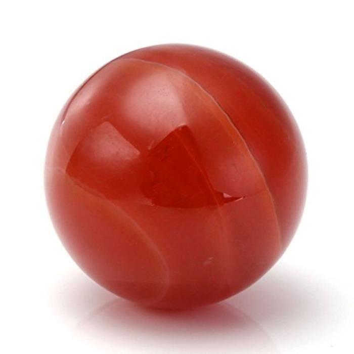 Collier Bijou Om Symbole Pendentif Argent + Naturelle Pierre DÉnergie Rond Agate Rouge Avec Sac Cadeau