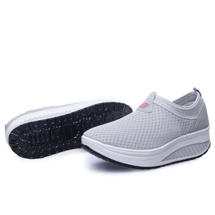 Femme Dames Chaussures Sneakers Espadrilles Augmenté Les Ont 5gpwqw