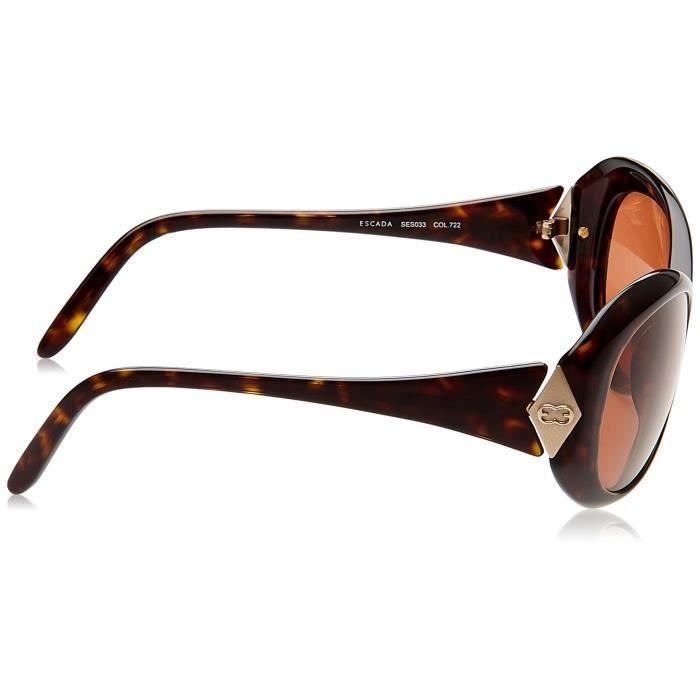 Escada Oval Sunglasses (demi Brown) (ses 033|722|free Size) ILP2C