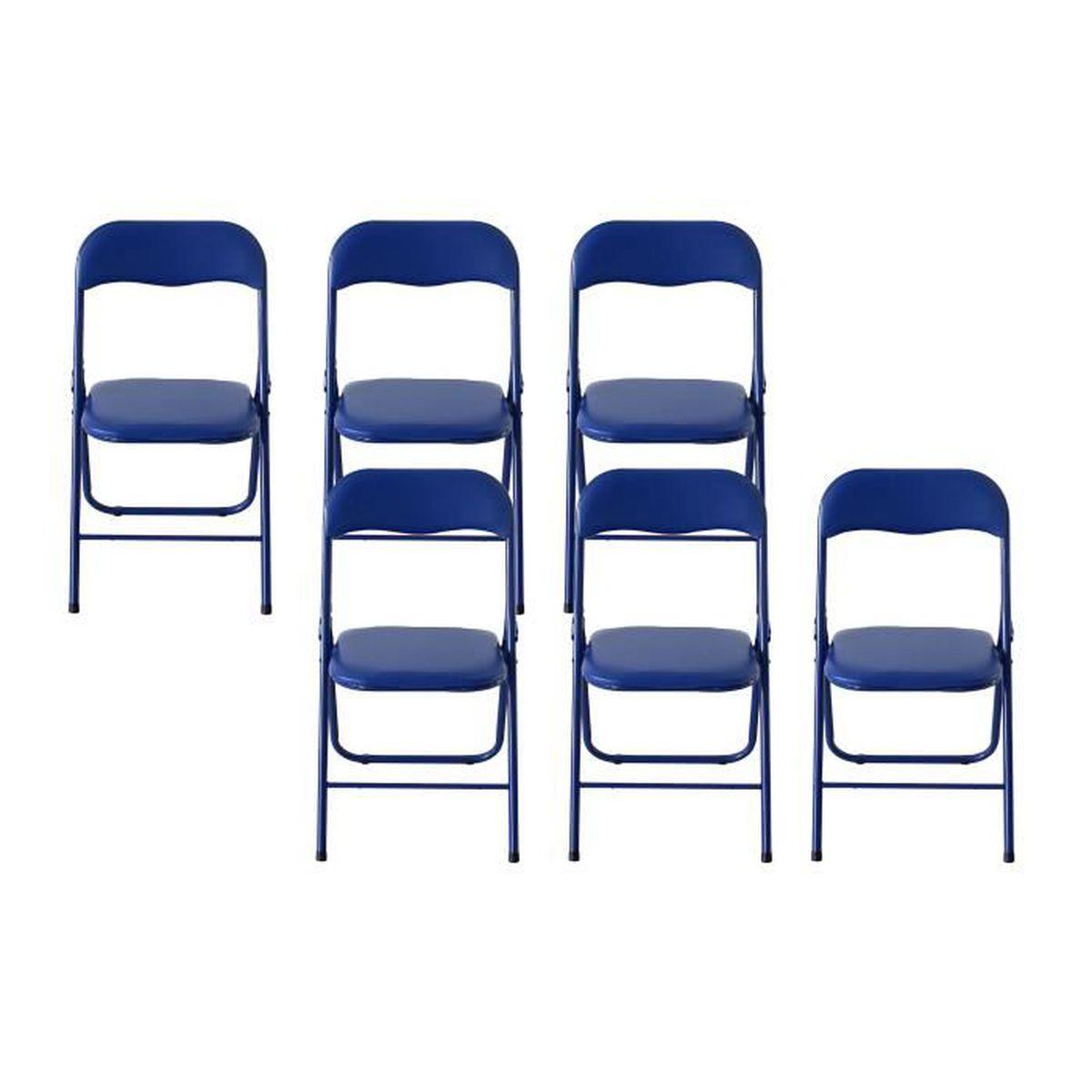 Chaises bleues elegant acheter chaises de bar en tissu for Acheter des chaises
