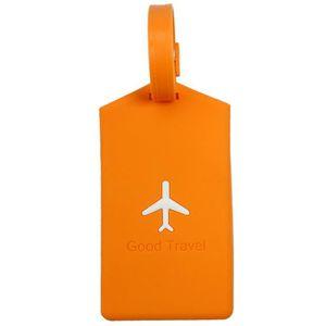 PORTE ADRESSE étiquette de bagage en PVC souple Sac ou Valise Ét