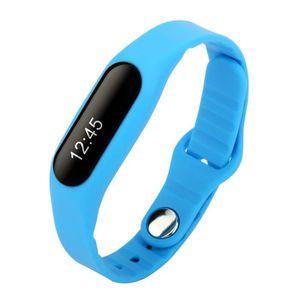 BRACELET D'ACTIVITÉ Tera® E06 Smart Bracelet Bluetooth Tracker d'activ