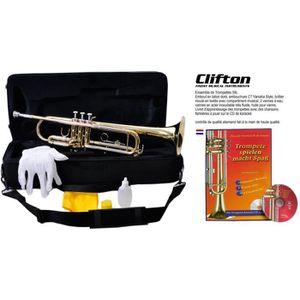 TROMPETTE Les trompettes de Clifton placent Bb dans une vali
