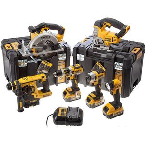 PACK DE MACHINES OUTIL DEWALT Pack de 6 machines DCK699M3T - Livré avec 3