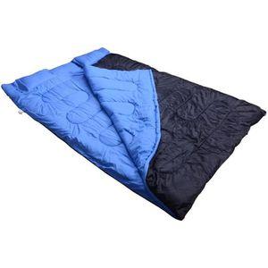 SAC DE COUCHAGE Sac de couchage double avec 2 oreillers tres confo