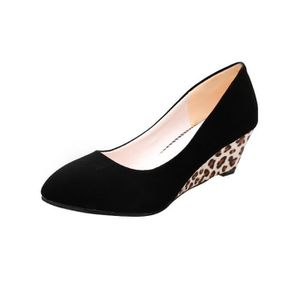 SLIP-ON Fashion Femmes Round Toe Platform High Heels Sanda