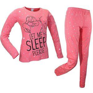 VÉLO ENFANT Coton chaud Interlock de pyjamas Disney pour fille