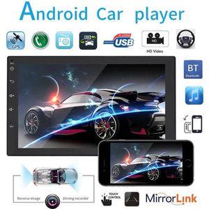 AUTORADIO Autoradio Bluetooth Lecteur 1080P autoradio FM Rad