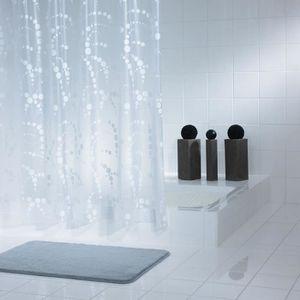 rideau douche transparent achat vente rideau douche transparent pas cher soldes d s le 10. Black Bedroom Furniture Sets. Home Design Ideas