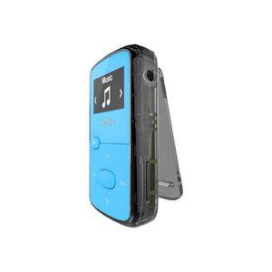 LECTEUR MP3 SanDisk Clip Jam Lecteur numérique 8 Go bleu