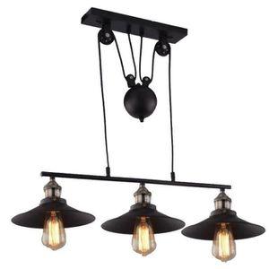 lustre fer forge noir achat vente lustre fer forge noir pas cher soldes d s le 10 janvier. Black Bedroom Furniture Sets. Home Design Ideas