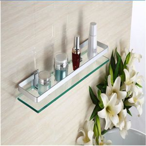 Etagere de salle de bain en verre - Achat / Vente pas cher