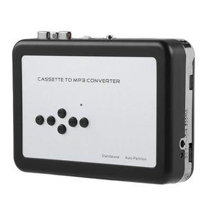 BALADEUR CD - CASSETTE Convertisseur De Cassettes Audio Portable MP3 USB