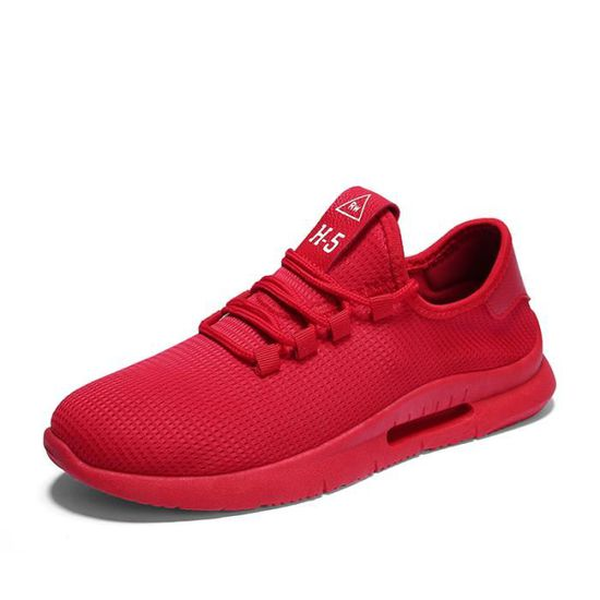 Dérapant Anti Mode Lacets Baskets Chaussure Rouge À Homme cTPw6zqOY