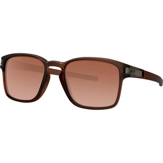 Lunettes de soleil Oakley Latch Squared Brun Mat Brun Dégradé - 52 - Achat    Vente lunettes de soleil Mixte Adulte - Soldes  dès le 9 janvier !  Cdiscount 796e65e1027e
