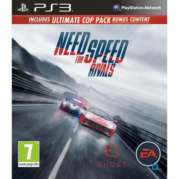 JEU PS3 NEED FOR SPEED  RIVALS - EDITION LIMITÉE - PS3