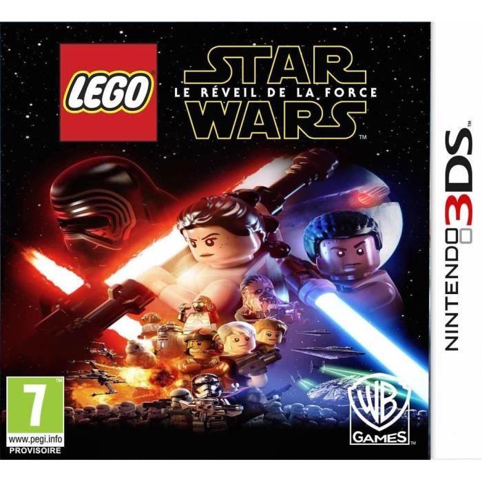 Lego WarsLe La Force Star De Réveil 3ds Jeu EH9W2YID