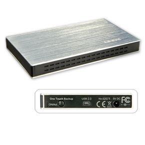 LINDY Boîtier USB 2.0 pour disque dur SATA 2 -5\