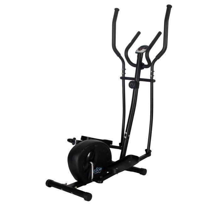 WESLO Vélo elliptique EliCity Inertie de 4 kg