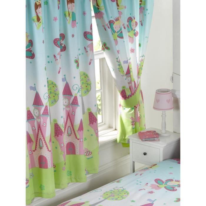 Princesse est dormir rideaux entièrement doublé 66 x 72 avec ...