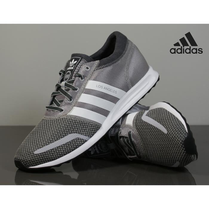 check-out 126a6 fd1da Baskets Adidas LOS ANGELES Homme, Modèle S79025 Gris/blanc ...
