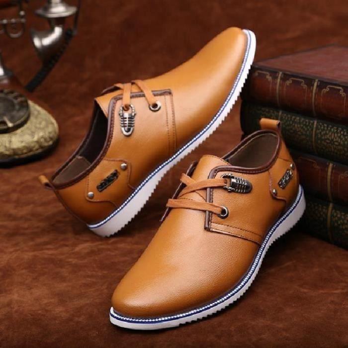 SHELOVEIT® Chaussures En Cuir Homme Soulier Habillées Chau... jYdx1FvK