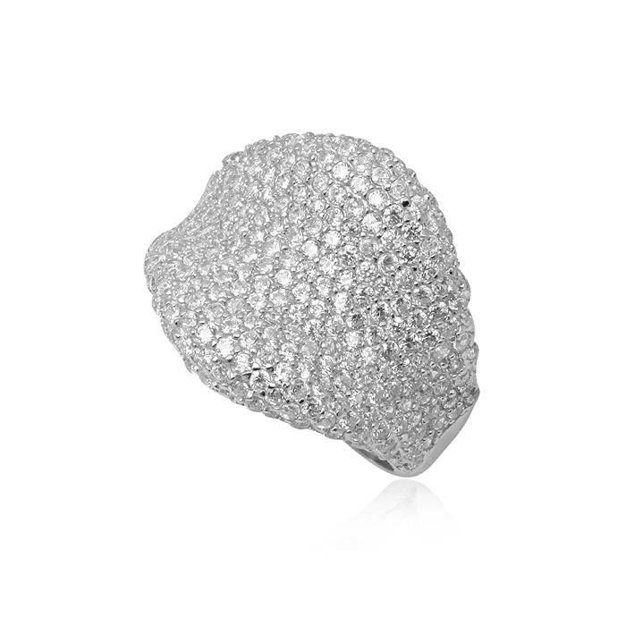 Bague - Argent 925 - Cubic Zirconium (Cz) - Bijou Chic