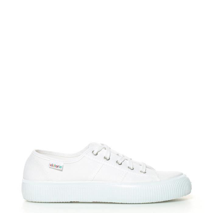 De Chaussures Blanche Toile Vente Victoria Blanc Achat QrdCxsth