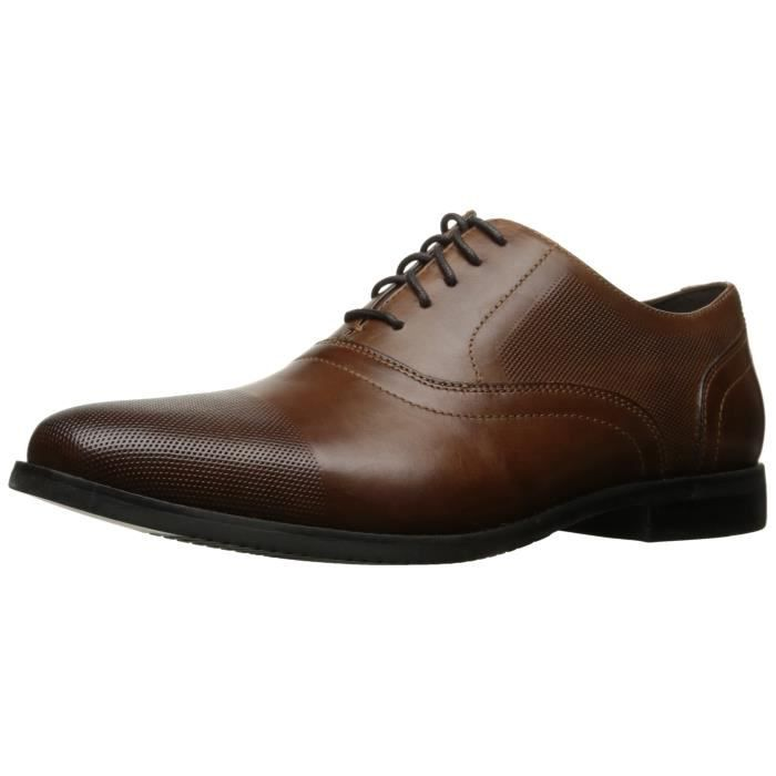 Derby Room Perf Cap Toe Oxford T425D Taille-44