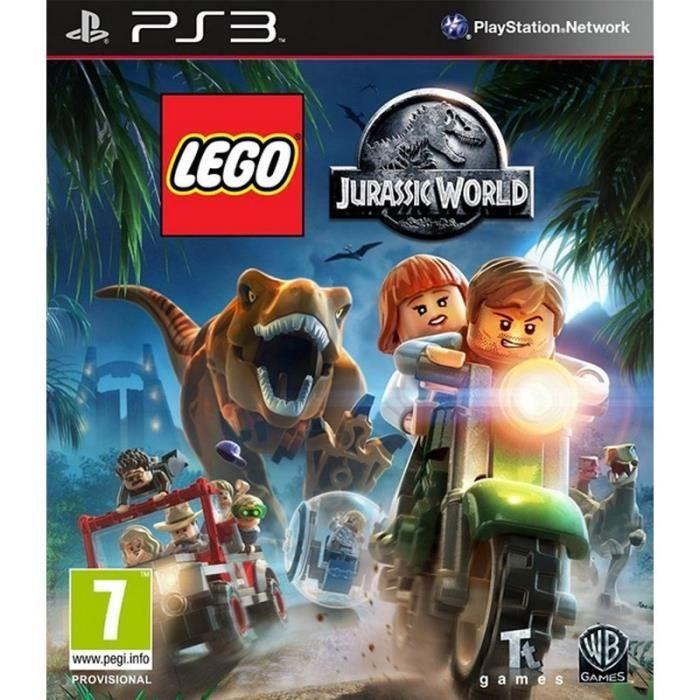 JEU PS3 Lego: Jurassic Monde PS3 - 13055