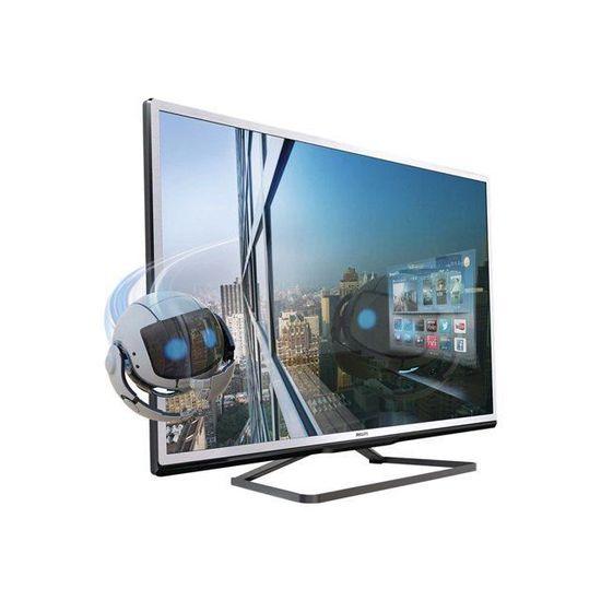 468d56cba8d Téléviseur LED 140 cm PHILIPS 55PFL4528H - téléviseur led