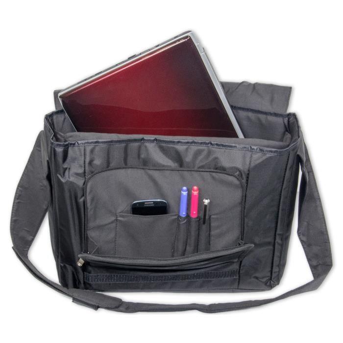 De Pouces Coloré Messager À Luxburg Ordinateur Badoulière Sac Pour Luxe Hérisson Portable 15