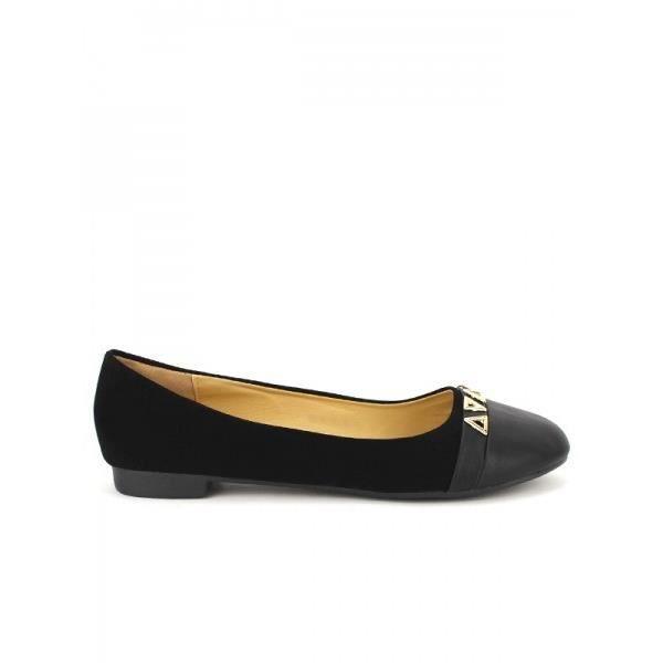 Ballerines Noir Chaussures Femme, Cendriyon