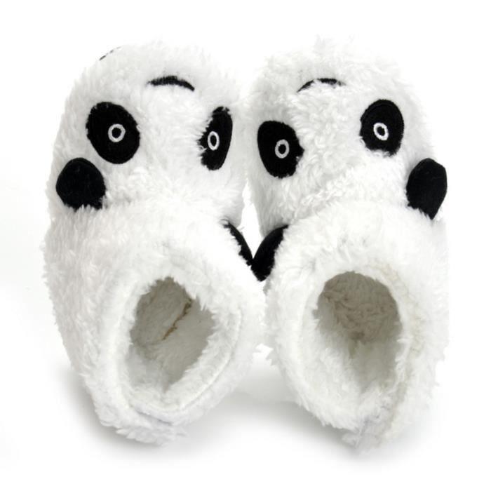 GEMVIE Botte de Neige Bébé Panda Velours Peluche Chaud d'Hiver Boots de Cartoon Aimable LC2d5Nd83