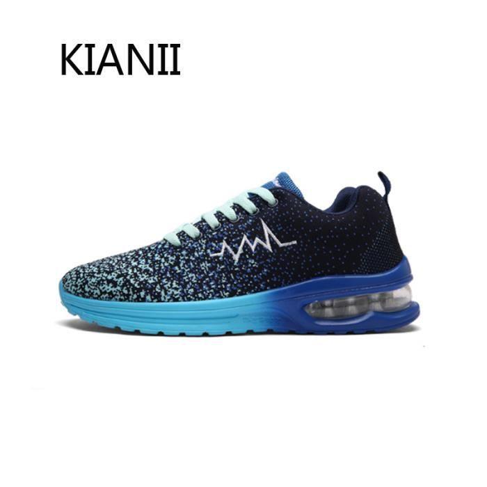 Basket Homme Chaussures de sport Air Hautechaussure Bleu
