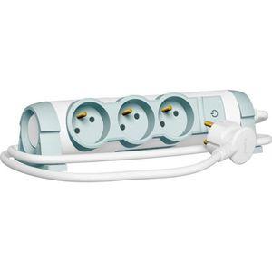 LEGRAND Rallonge multiprise Confort bloc de prises rotatif avec interrupteur 3x2 P+T 1,5 m