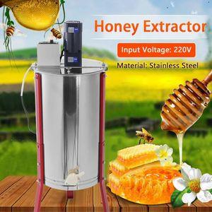 EXTRACTEURS Séparateur d'Extracteur électrique de miel de 3 ca