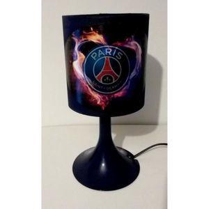 LAMPE A POSER LAMPE DE CHEVET FOOT PARIS ST GERMAIN PSG BLEU
